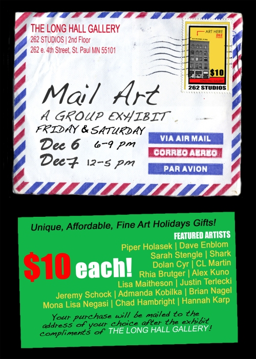 $10 Mail Art Poster Long
